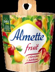 Almette fruit z Gruszką i Jabłkiem