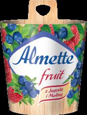 Almette fruit z Jagodą i Maliną