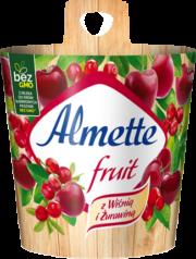 Almette fruit z Wiśnią i Żurawiną