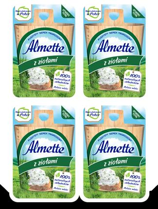 Mini Almette z ziołami
