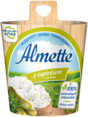 Almette z ogórkiem i ziołami