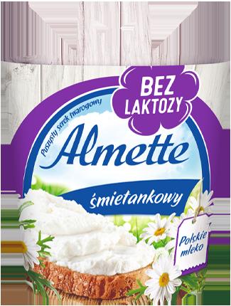 Almette śmietankowy bez laktozy